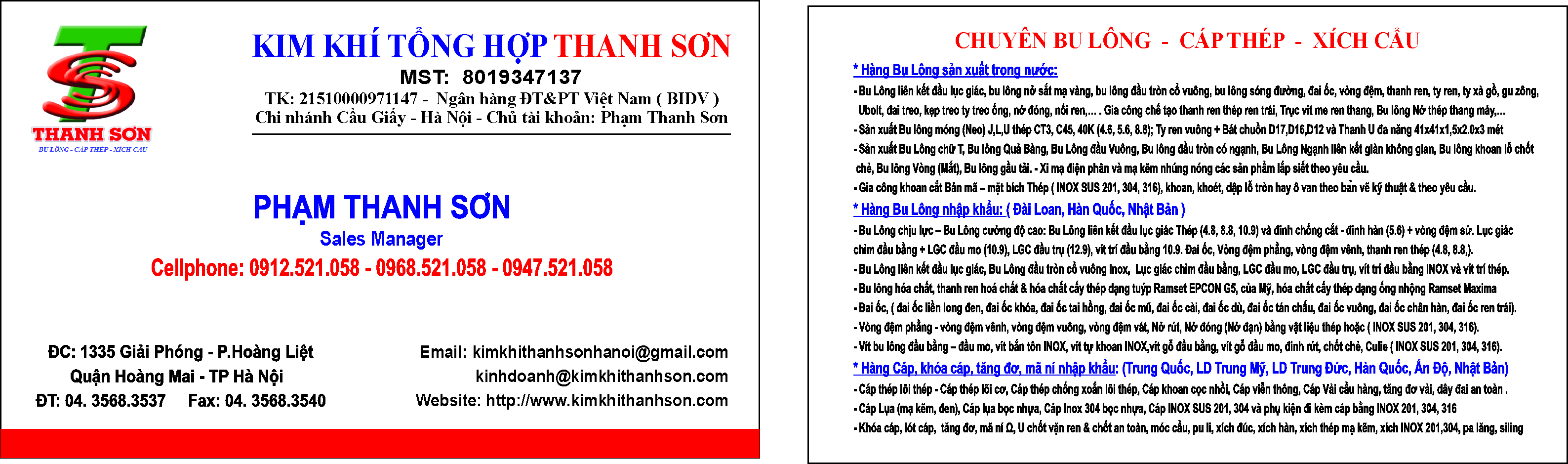 Card Thanh Sơn 12.07.2016 OK